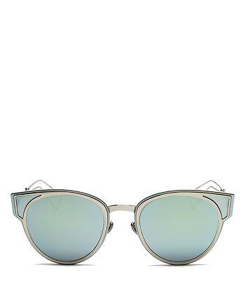 Dior - Women's Sculpt Mirrored Cat Eye Sunglasses, 50mm