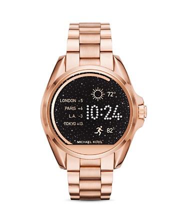$Michael Kors Bradshaw Smartwatch, 44.5mm - Bloomingdale's