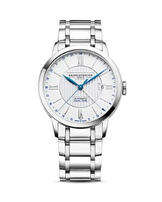 Baume & Mercier Classima Automatic Dual Time Watch, 40mm - Bloomingdale's_0