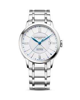 Baume & Mercier - Classima Automatic Dual Time Watch, 40mm