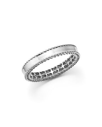 Roberto Coin - 18K White Gold Symphony Princess Ring