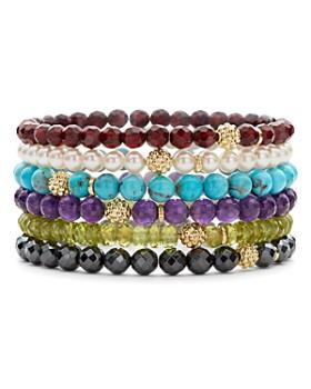 LAGOS - Caviar Icon 18K Gold and Gemstone Bracelets