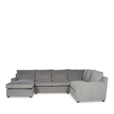 Riley 4-Piece Sectional - Right Facing Chaise - 100% Exclusive