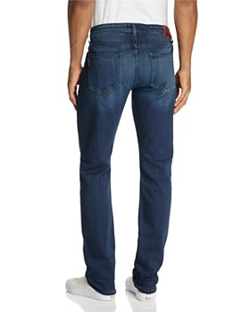 PAIGE - Transcend Federal Slim Fit Jeans in Blakely