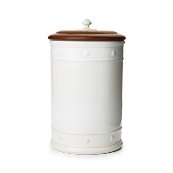 "Juliska - Berry & Thread 13"" Canister with Wooden Lid"
