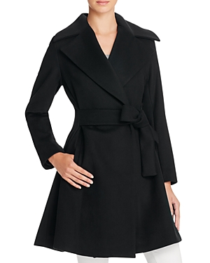 Trina Turk Violet Fit-and-Flare Coat-Women