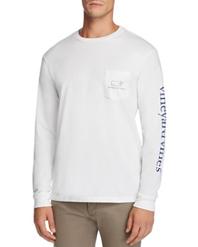 Vineyard Vines - Whale Graphic Long Sleeve Pocket Tee