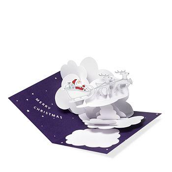 moma santas sleigh holiday cards - Moma Holiday Cards