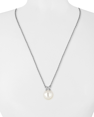Majorica Simulated Pearl Pendant Necklace, 16