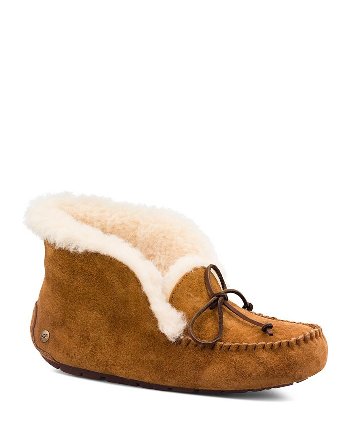 UGG® - Women's Alena Faux Fur Cuff Slippers