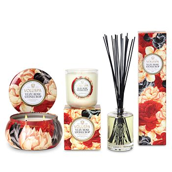 Voluspa - Yuzu Rose Stonecrop Candles & Diffusers