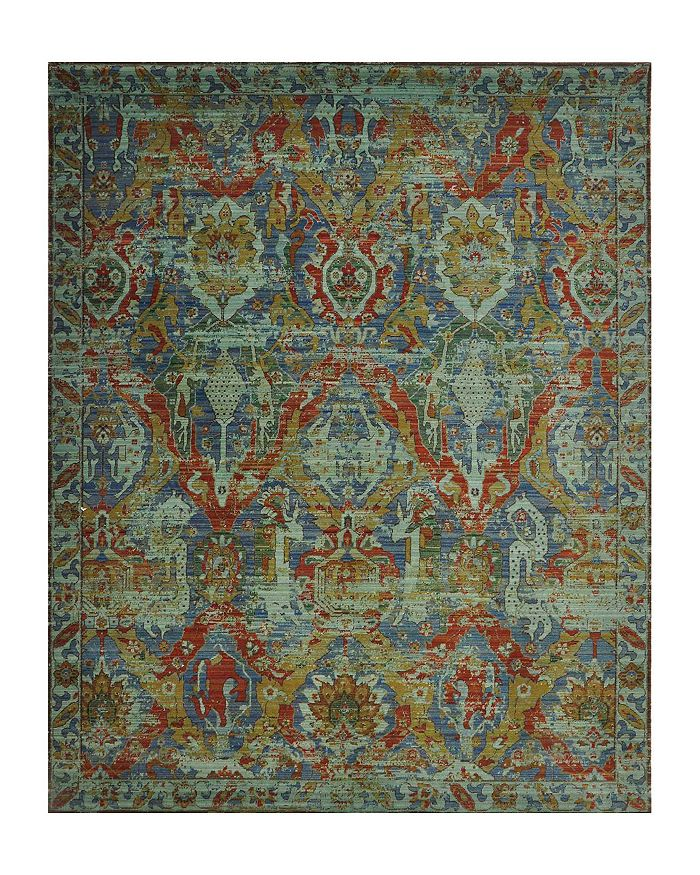 """Nourison - Timeless Rug - Turquoise, 9'9"""" x 13'"""