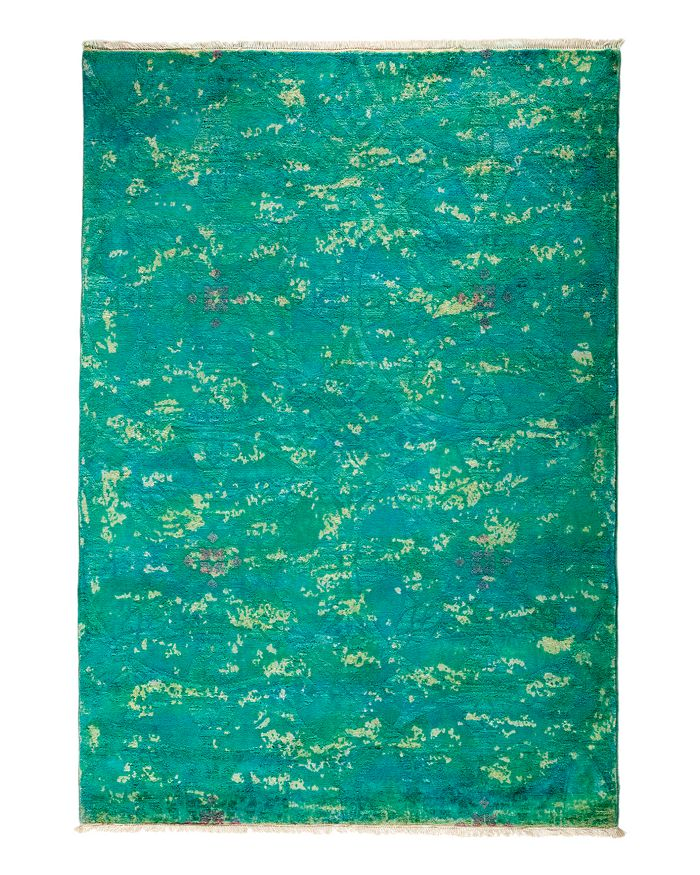 """Solo Rugs - Vibrance Overdyed Area Rug, 4'2"""" x 5'10"""""""
