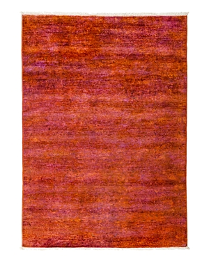 Solo Rugs Vibrance Overdyed Area Rug, 4'0 x 5'8