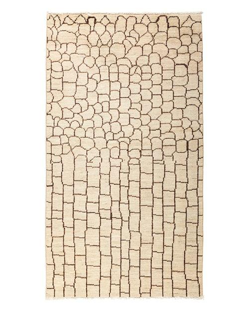 "Solo Rugs - Moroccan Area Rug, 4' x 7'1"""