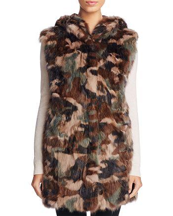 Maximilian Furs - Sable Fur Camo Vest