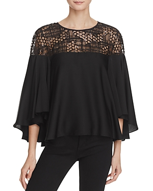 Milly Sequined Tulle Angie Blouse