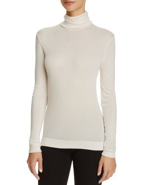 Hanro Silk & Cashmere Turtleneck Top