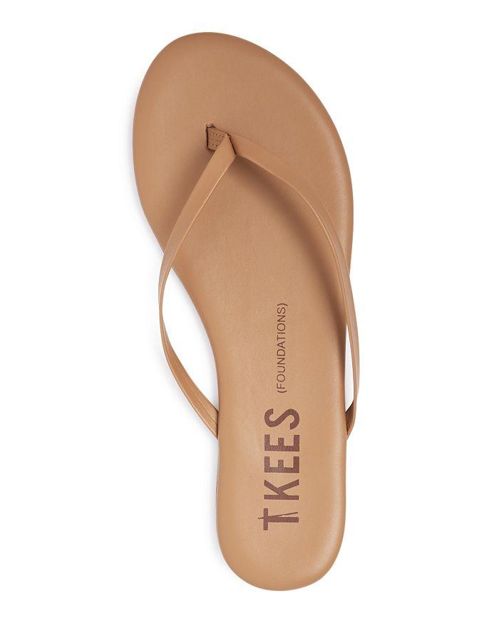 67d966b92d20f TKEES Women's Foundations Leather Flip-Flops   Bloomingdale's