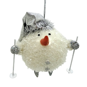 Bloomingdale's Snowman Skier Ornament - 100% Exclusive