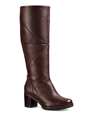 Ugg Avery Leather and Sheepskin Tall Boots