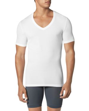 Tommy John Second Skin Deep V Neck Tee
