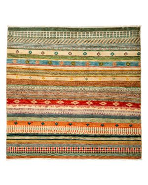 Solo Rugs Tribal Oriental Area Rug, 4'5 x 5'