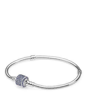 PANDORA - Sterling Silver & Cubic Zirconia Bracelet