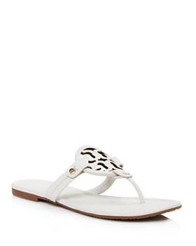 Tory Burch - Women's Miller Leather Thong Sandals