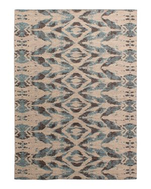 Grit & ground Cosmic Glow Flatweave Area Rug, 10' x 14'