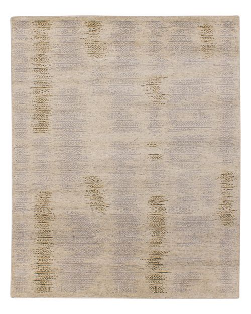 GRIT&ground - Tribal Ceramics Area Rug, 6' x 9'