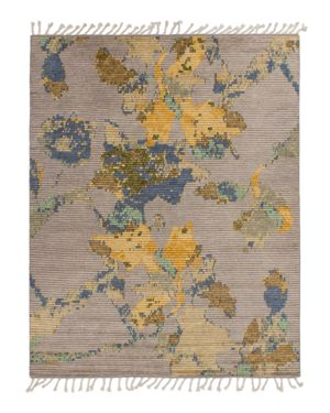 Grit & ground Moroccan Floral Area Rug, 10' x 14'