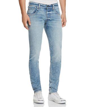rag & bone Standard Issue Fit 1 Super Slim Fit Jeans in Acid Blue
