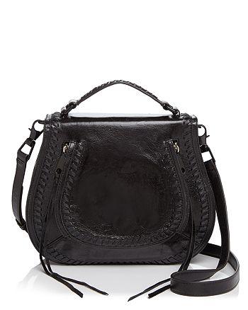 Rebecca Minkoff - Vanity Distressed Saddle Bag