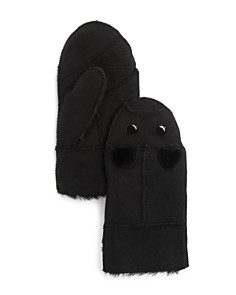 Surell Girls' Shearling Mittens - Sizes S-M - Bloomingdale's_0
