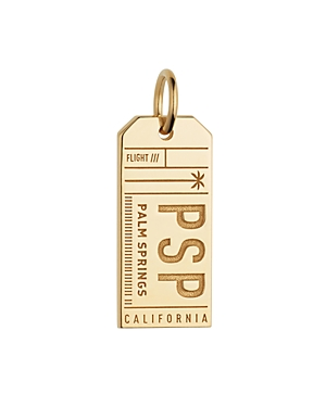 Jet Set Candy Psp Palm Springs California Luggage Tag Charm at Bloomingdale's