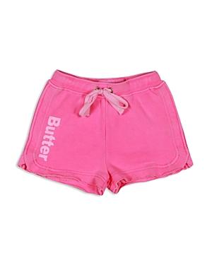 Butter Girls' Softened Fleece Shorts - Sizes 4-6