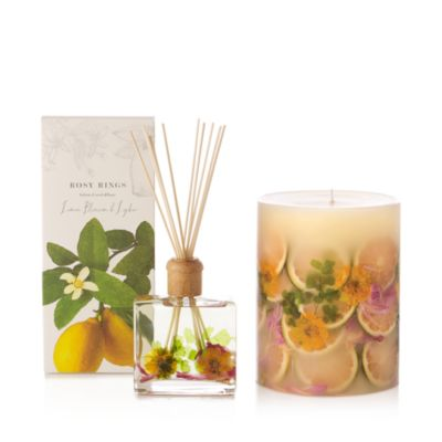 "Lemon Blossum and Lychee 6.5"" Candle"