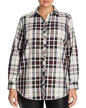 Foxcroft Plus Tartan Tunic