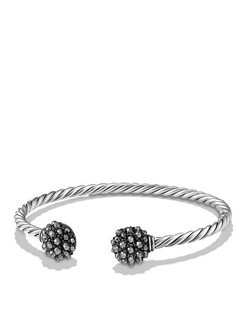 David Yurman - Cable Berries End Station Bracelet with Hematine