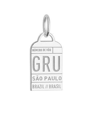 Jet Set Candy - São Paulo, Brazil GRU Luggage Tag Charm