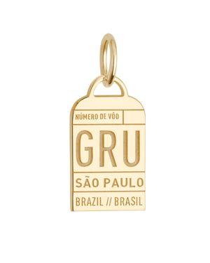 Jet Set Candy Sao Paulo, Brazil Gru Luggage Tag Charm