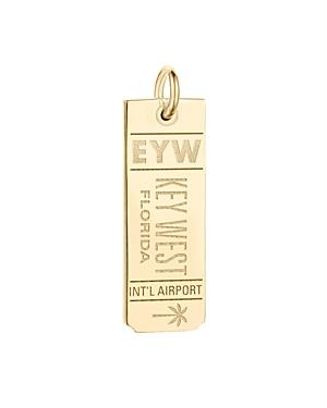 Jet Set Candy Eyw Key West Luggage Tag Charm