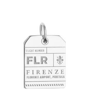 Jet Set Candy Flr Florence Luggage Tag Charm