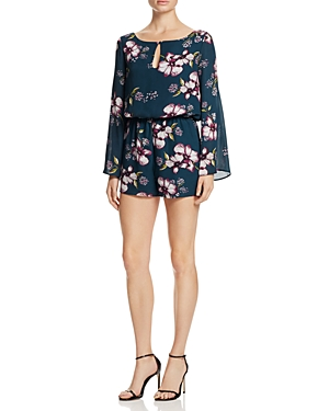 cupcakes and cashmere Hansens Floral Romper