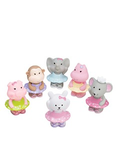 Elegant Baby - Ballet Party Squirties Bath Toys - Ages 6 Months+