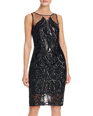 Adrianna Papell Sequin Dress