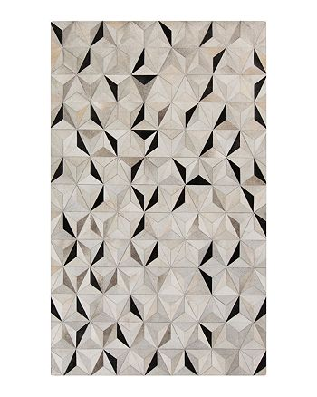 Surya - Trail Area Rug - Charcoal/Gray/Light Gray, 8' x 10'