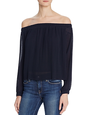 Joa Pleated Off-the-Shoulder Top - 100% Exclusive