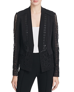 Kobi Halperin Holly Lace Panel Jacket